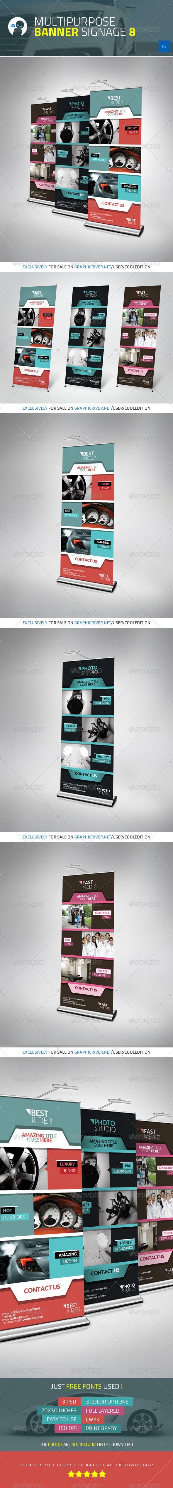 Multipurpose Banner Signage 8 - Signage Print Templates
