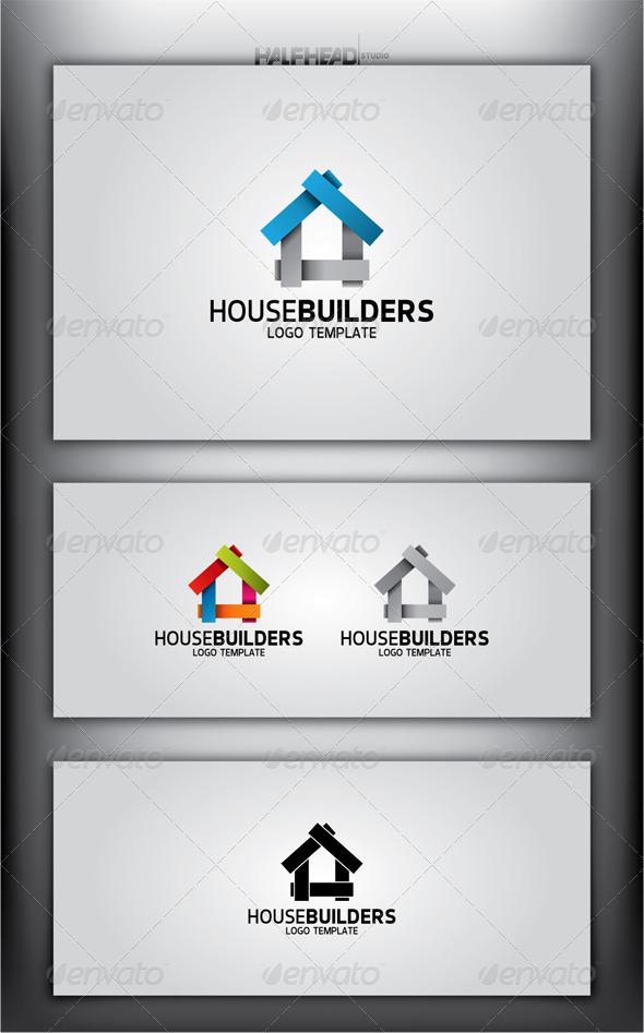 HouseBuilders Logo Template - Abstract Logo Templates