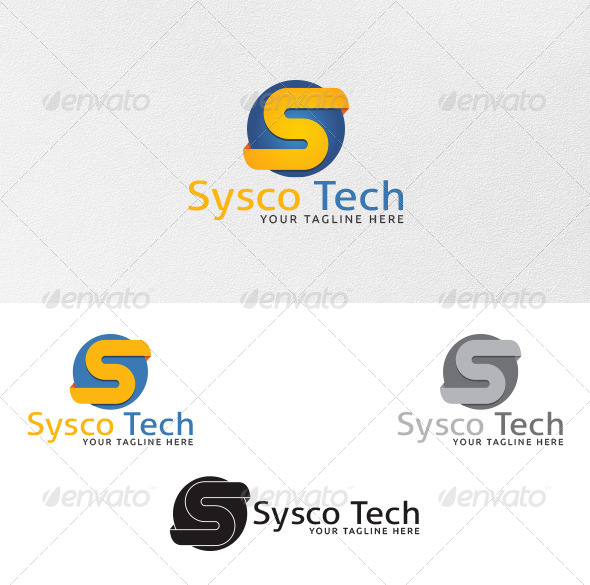 Letter S - Logo Template - Letters Logo Templates