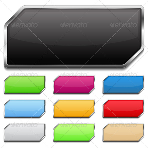 Buttons - Web Elements Vectors