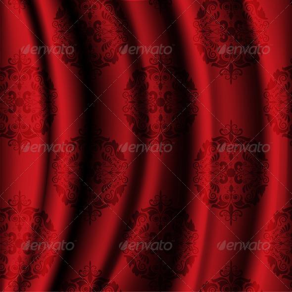 Luxury Fabric Background - Backgrounds Decorative