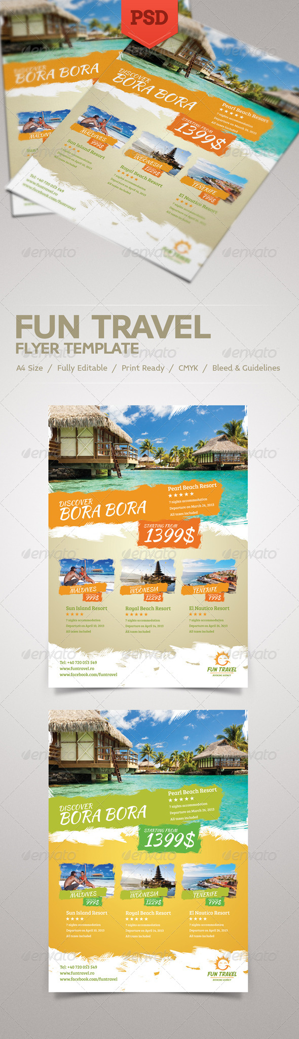 Fun Travel Flyer - Commerce Flyers