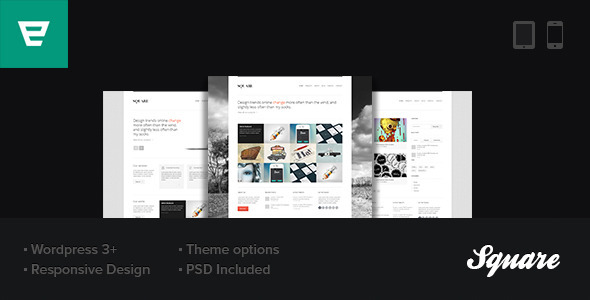 WordPress Minimal & Responsive