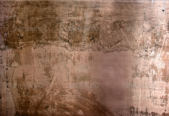 High resolution distressed copper surface - Metal Textures