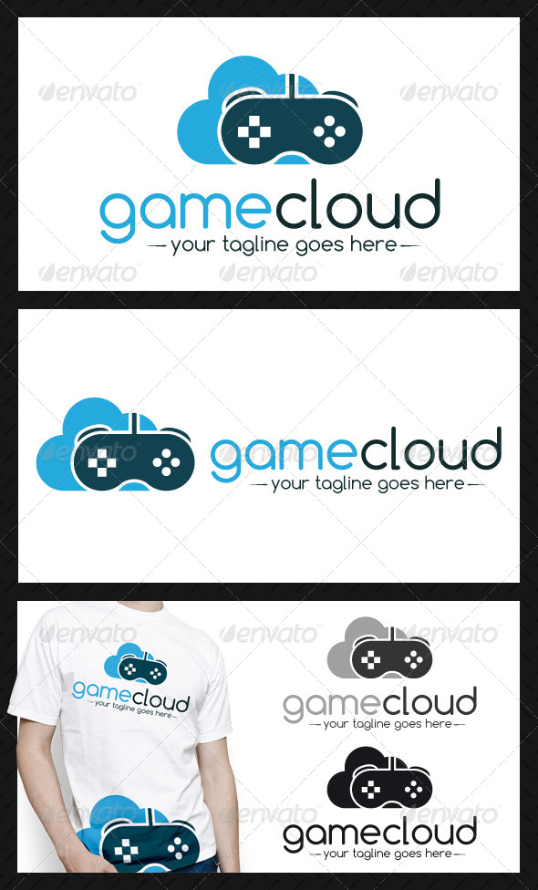 Game Cloud Logo Template - Objects Logo Templates