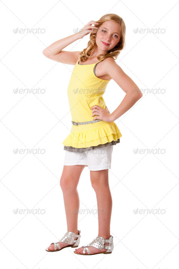 Young Teenage fashion - Stock Photo - Images