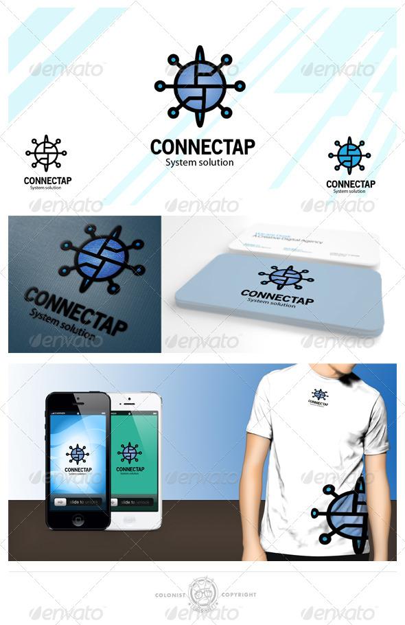 connectap Logo  - Symbols Logo Templates