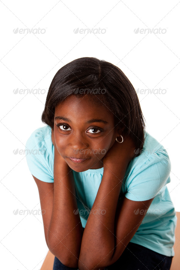 Sad Teenager worries and problems - Stock Photo - Images