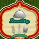 Menu Vintage Green Background - GraphicRiver Item for Sale