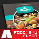 Modern Restaurant and Food Menu Flyer - GraphicRiver Item for Sale