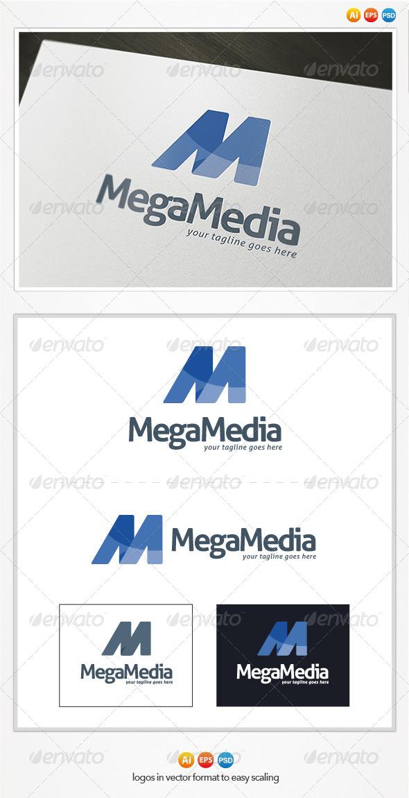 Mega Media Logo - Letters Logo Templates