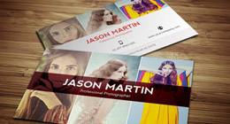 Photographer Business Cards COllection