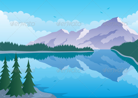Mountain Lake - Landscapes Nature