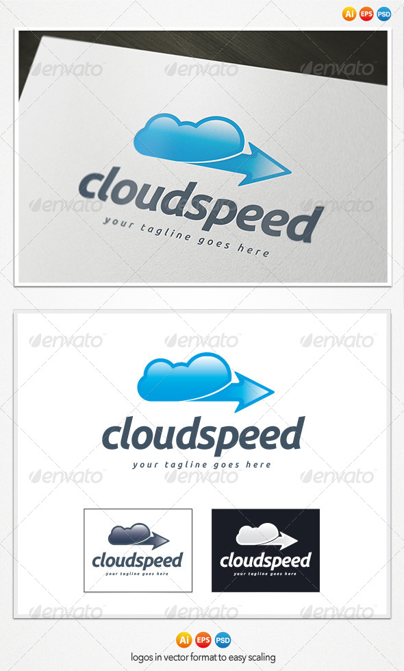 Cloud Speed Logo - Symbols Logo Templates
