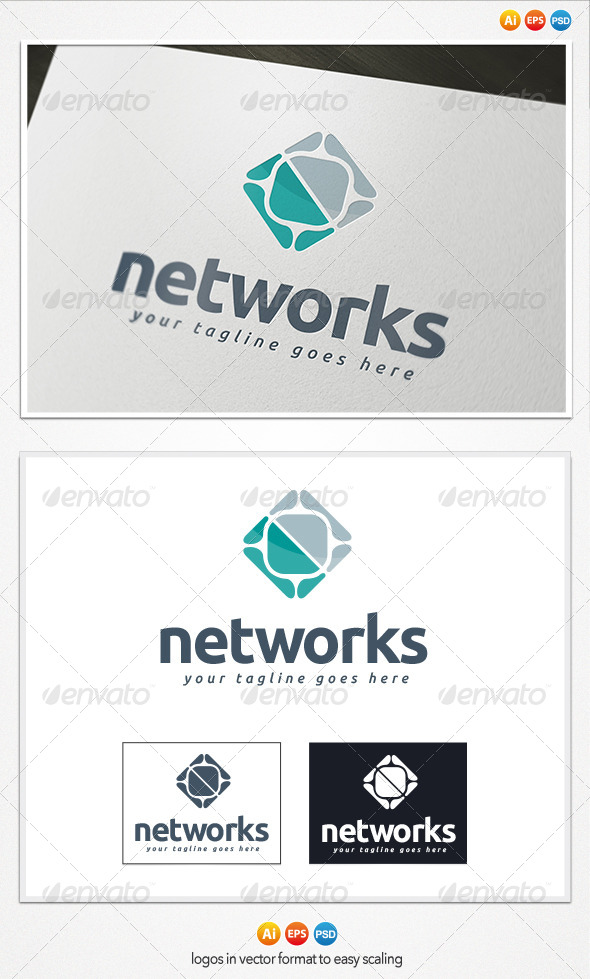 Networks Logo - Symbols Logo Templates