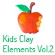 Kids Clay Elements Vol.2 - VideoHive Item for Sale
