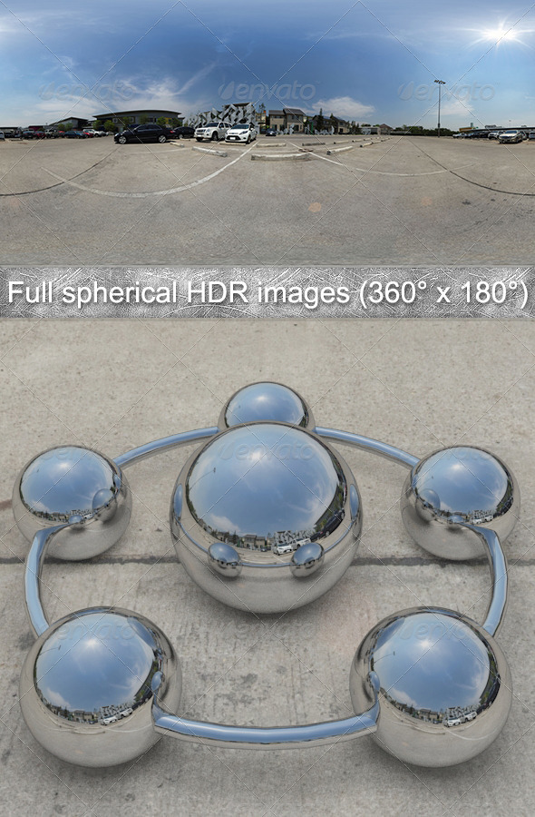 Parking Full spherical HDR images (360° x 180°) - 3DOcean Item for Sale