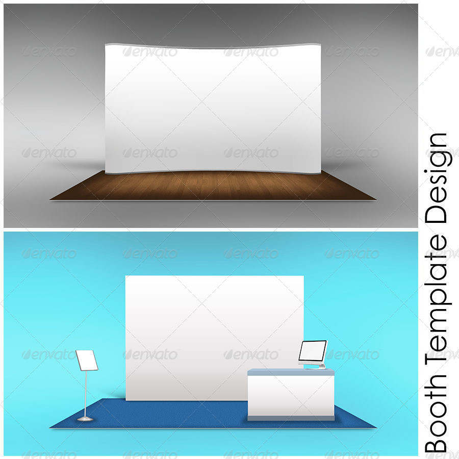 Booth Template Part 6 by shamcanggih | GraphicRiver
