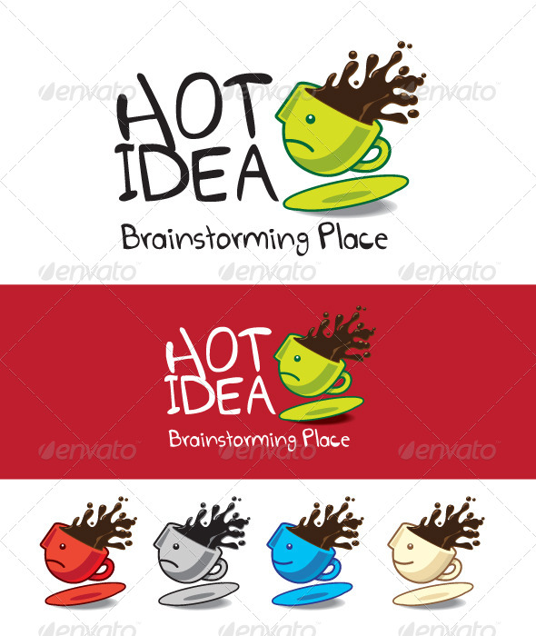 Hot Idea - Vector Abstract