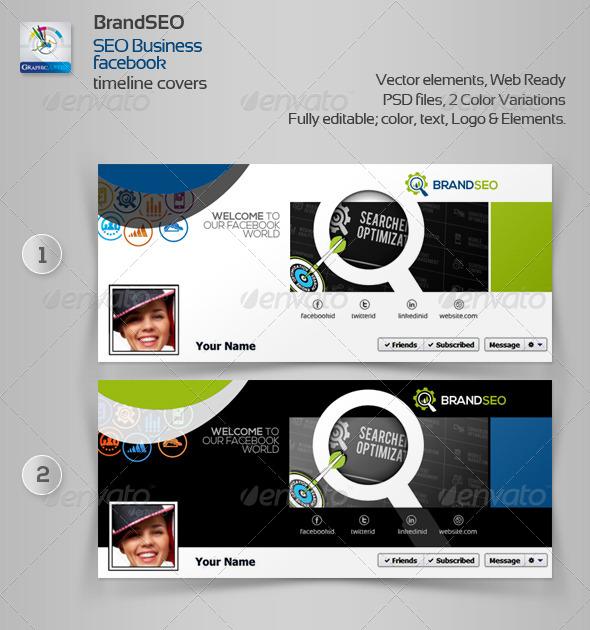 BrandSEO Creative Facebook Timeline Cover - Facebook Timeline Covers Social Media