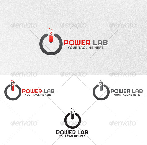Power Lab - Logo Template - Symbols Logo Templates