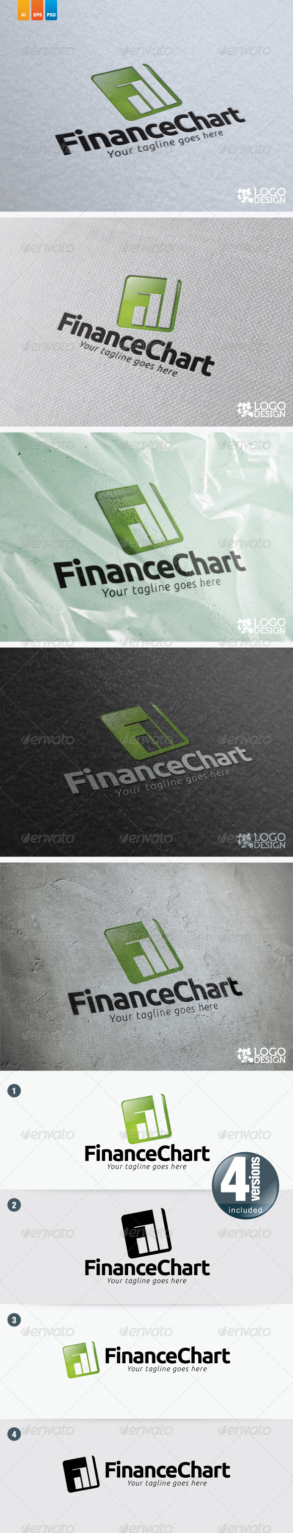 Finance Chart - Symbols Logo Templates