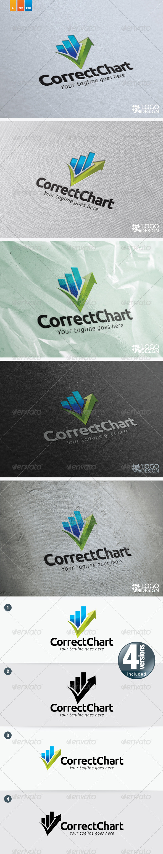 Correct Chart - Symbols Logo Templates