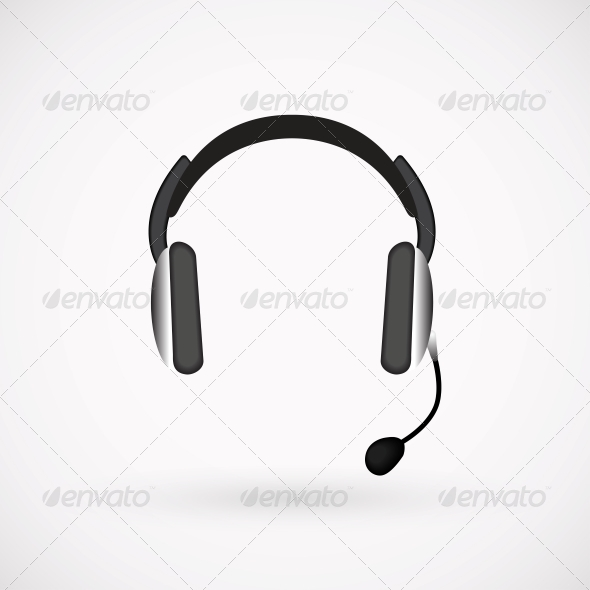Headphones Icon - Media Technology