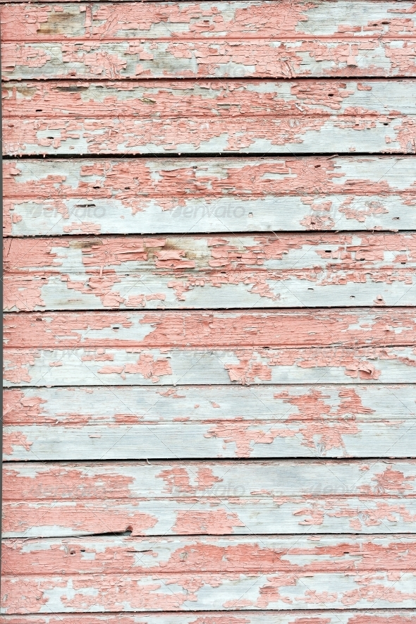 Background Of Weathered White Painted Wood By H2oshka