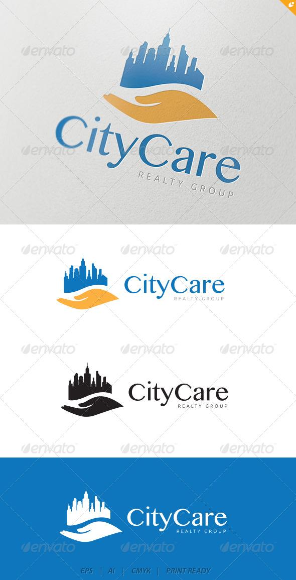 City Care Logo - Buildings Logo Templates