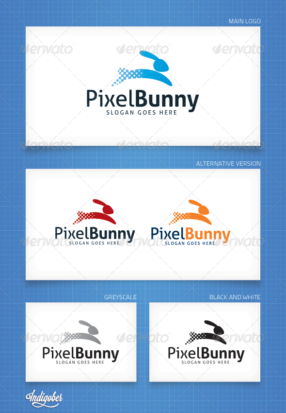 PixelBunny - Logo Template - Animals Logo Templates