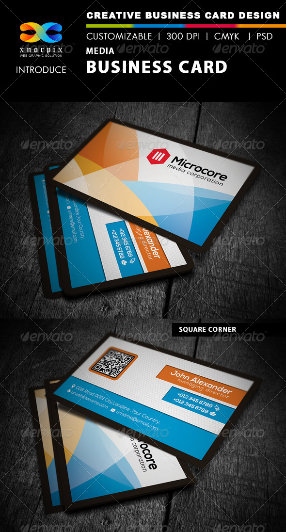 Media Business Card - Creative Business Cards
