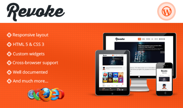 Revoke – Responsive WordPress Theme - Art Creative
