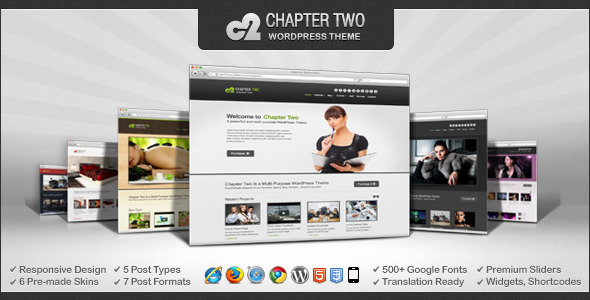 Chapter Two - WordPress Theme - Corporate WordPress
