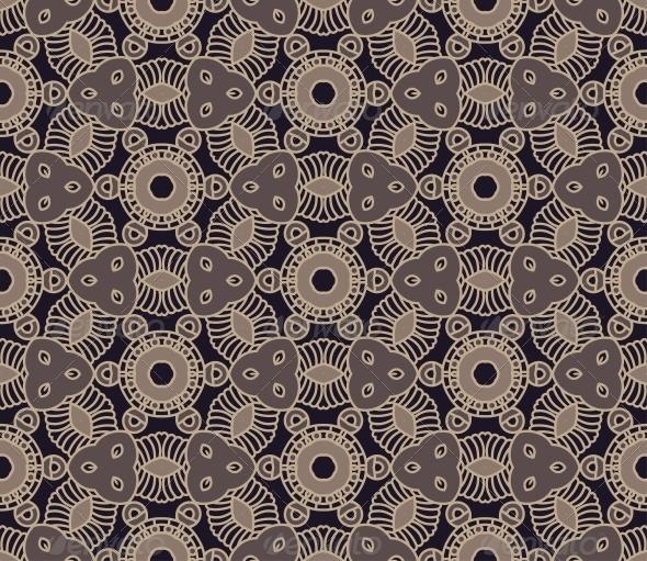 Seamless Colorful Retro Pattern Background - Patterns Decorative