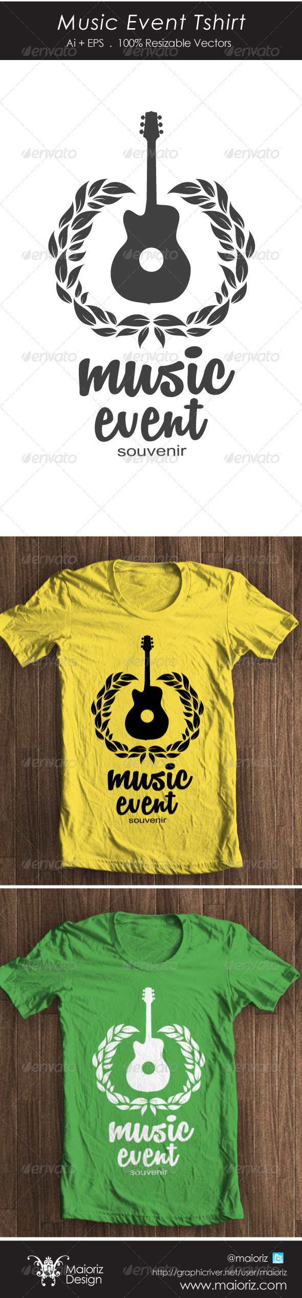Music Event Tshirt - Events T-Shirts