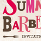 Summer Barbecue invitation - GraphicRiver Item for Sale