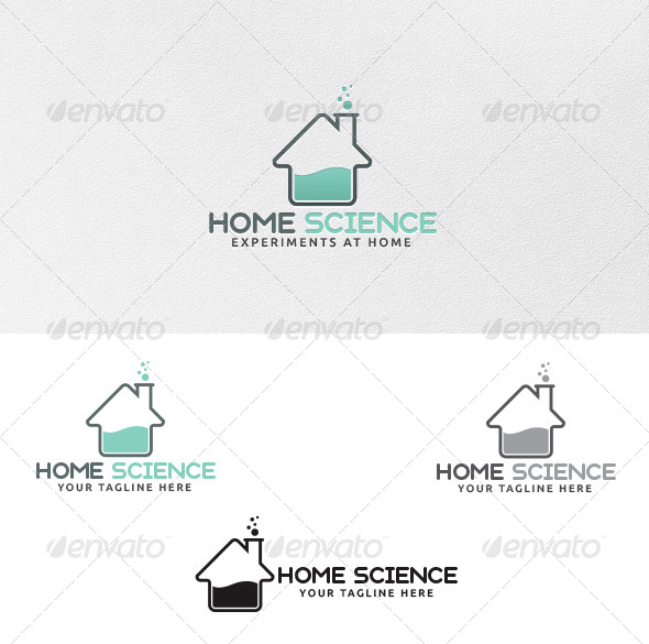Home Science - Logo Template - Buildings Logo Templates