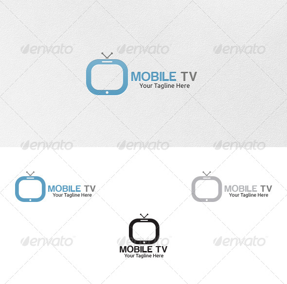 Mobile Tv - Logo Template - Objects Logo Templates