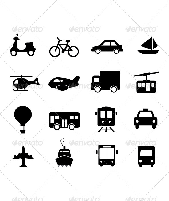 Transportation Icon - Icons