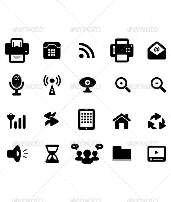 Media and Communication Icon - Icons