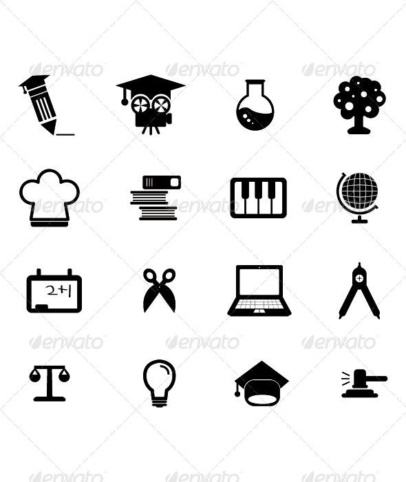 Education Icon - Icons