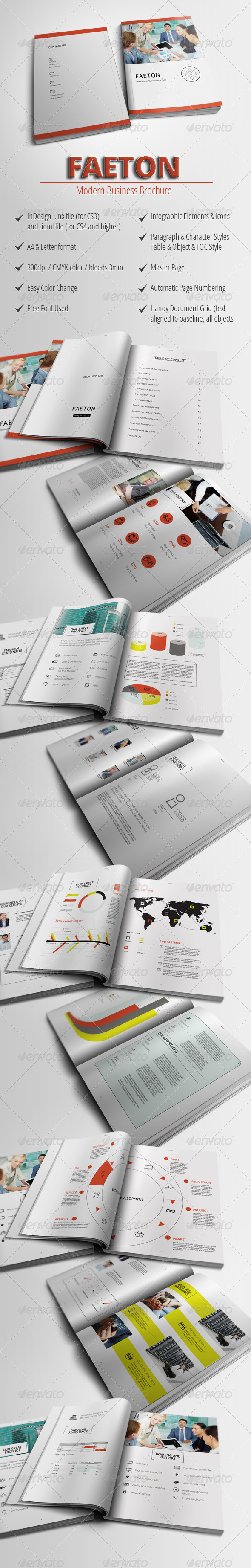Faeton - Business Brochure - Corporate Brochures