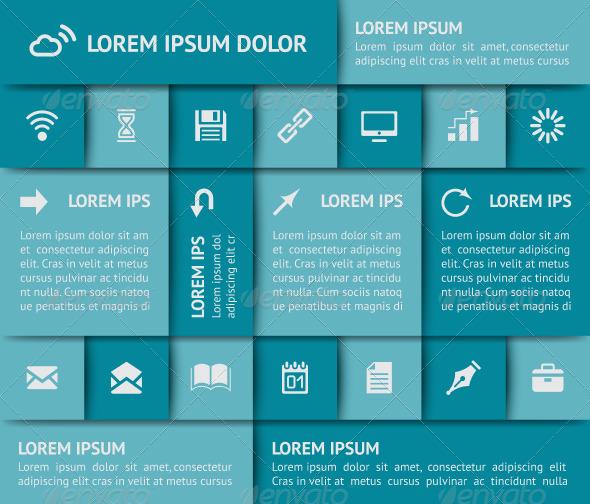 Web Design Elements - Web Elements Vectors