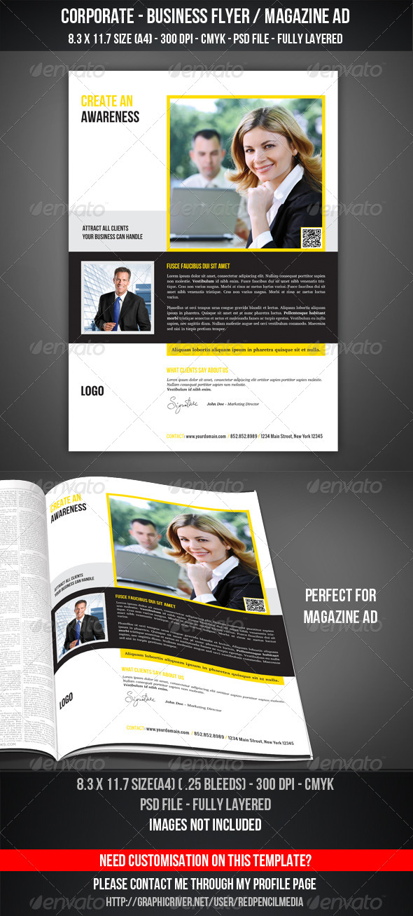 Corporate - Business Flyer / Magazine AD - Corporate Flyers