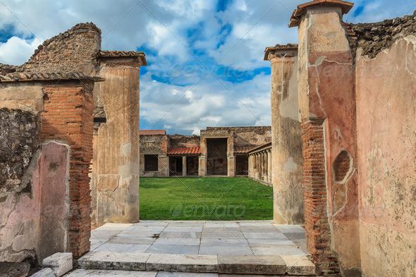 Pompei, Italy  - Stock Photo - Images