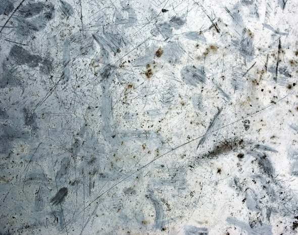 Photo of the texture  rusty metal. Aluminum - Metal Textures
