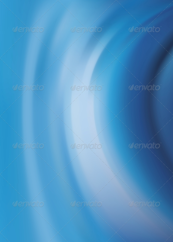 Abstract Texture, Blue Silk - Abstract Backgrounds