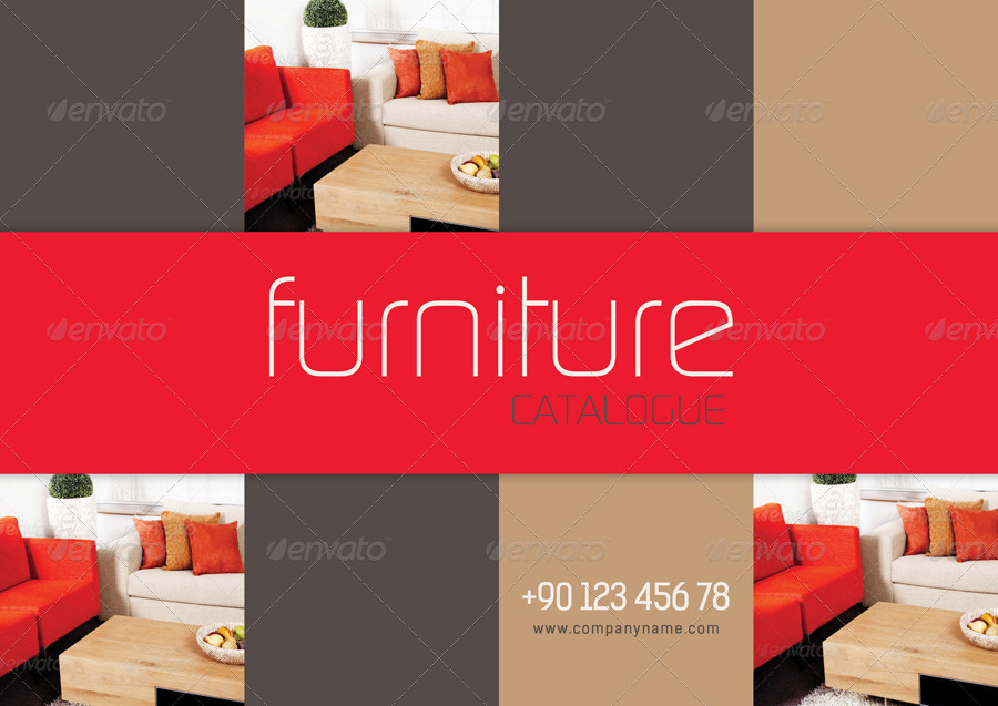Furniture Design Templates furniture catalogue templategrafilker | graphicriver