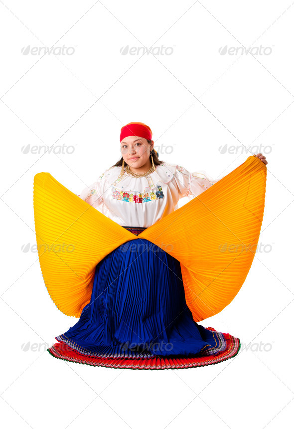 Latin Gypsy woman - Stock Photo - Images
